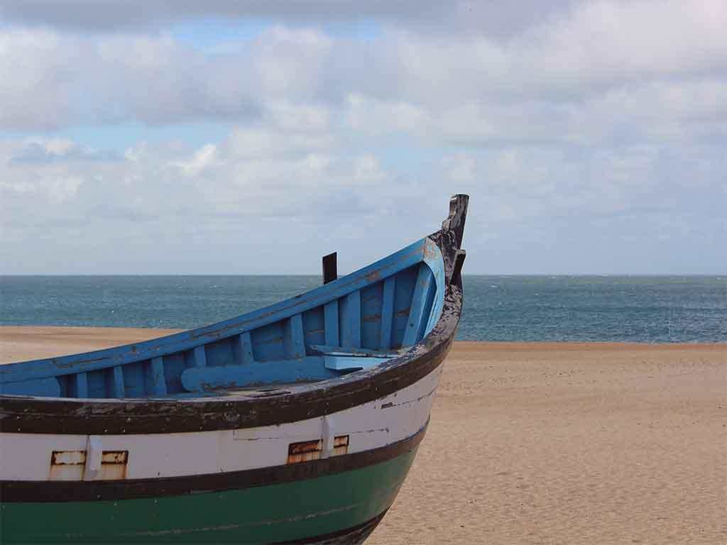 Le port de pêche de Nazaré