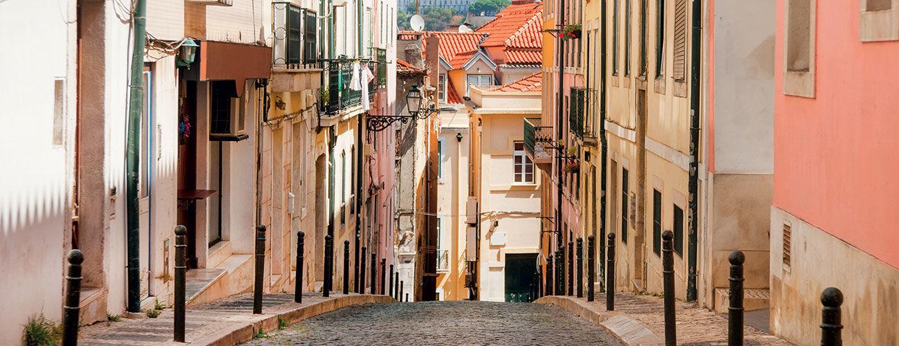 Les rues de Lisbonne