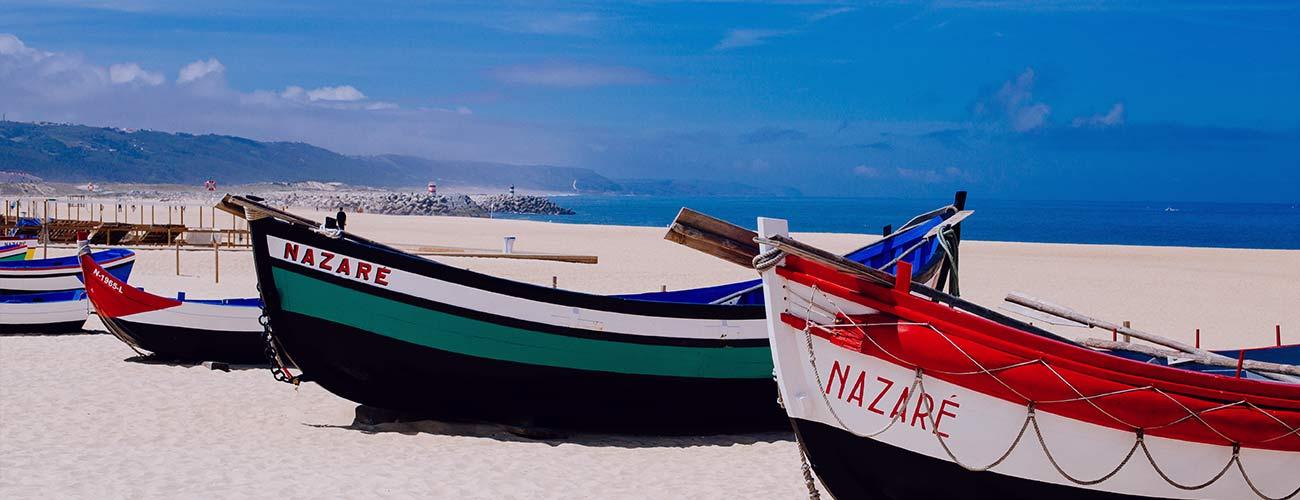 Le village de pêcheurs Nazaré