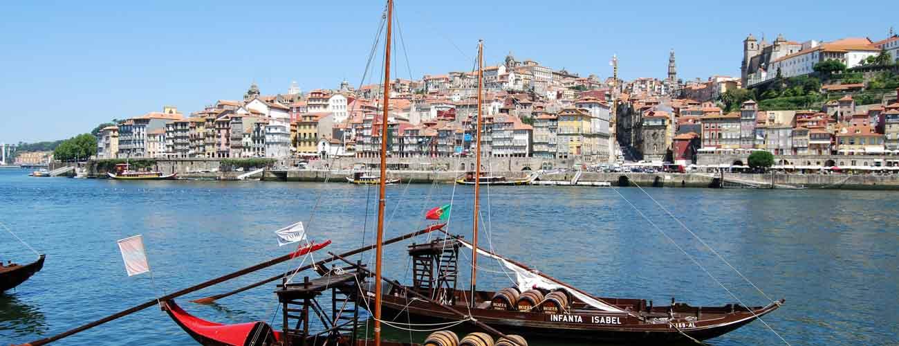 Le Douro, à Porto au Portugal