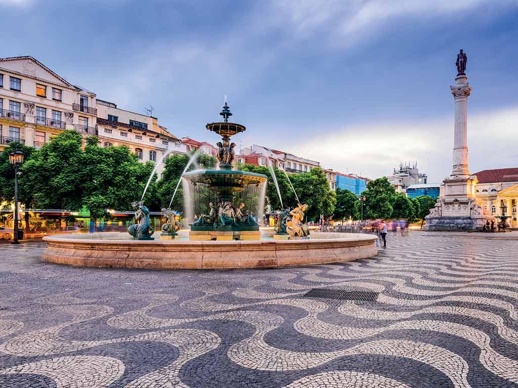 Fontaine de Lisbonne