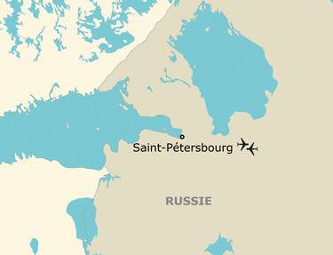 Itinéraire de votre programme en Russie
